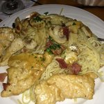 Chicken Marsala - out of this world good!