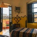 la chambre d'angle avec balcon