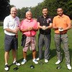Golfing group.
