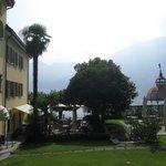 Hotel & gardens where we had breakfast & dinner