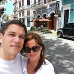 Old San Juan, outside hotel surroundings!