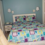 Pompano Room 3; studio that sleeps 2 with a queen bed and full kitchen