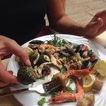 frischer Meeresfrüchte Salat - Hammer!
