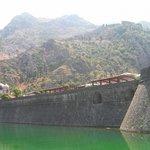 Котор. Крепостная стена Старого города