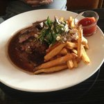 Spice Rubbed Steak & Fries