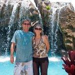 Grand Wailea  waterfall