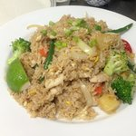 Pineapple Fried Rice w/Chicken