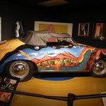 replica of janis joplins car