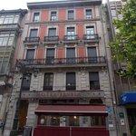 Fachada hotel Fruela