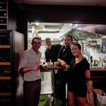The incredible chef and staff at Pouic-Pouic