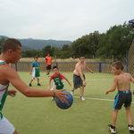 Match de basket pour les enfants