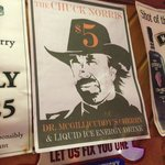 Advertisement for Chuck Norris drink