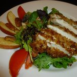 Pecan Crusted Chicken Salad