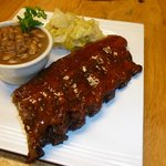 Saturday's Feature :  Slow Smoked BBQ Baby Back Ribs
