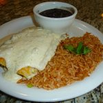 Tuesday's Feature : Green Chili Chicken Enchiladas