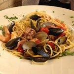 pasta aux fruits de mer