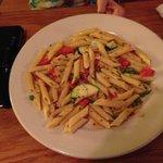Pasta prima vera or garlic and oil
