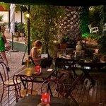 La Casa Verde terrace/bar
