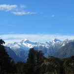 Sent by the receptionist to see Mt. Tasman & Mt. Cook - 20 min