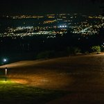 Huntsville City Lights From Burritt on the Mountain