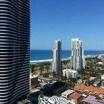 View from 22nd Floor Ocean View Room