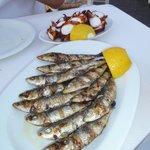 Polpo e sardine