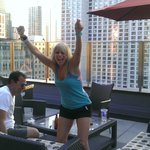 We love the rooftop patio!