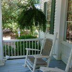 Southern Plantation front porch view