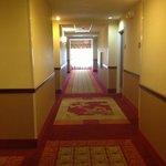 nice bright, clean hallways