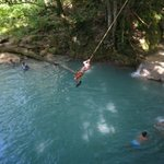 Exploring new heights at the Irie Blue Hole