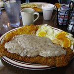 Chicken Fried Steak Breakfast