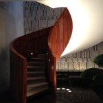 Center Circular Stair