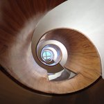 Center Circular Stair - Looking up