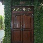 Entry to Villa Sambawa
