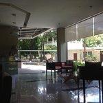 Quiet lobby
