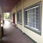 Corridor outside Posada Magnolia