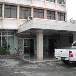 entrance to Majoha hotel