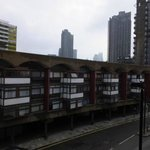 View from Hotel Room of Barbican district