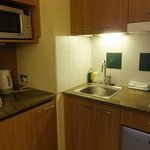 Small kitchenette and sink
