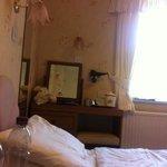 tiny old room