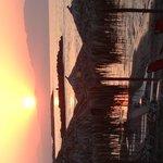 Härlig bild av solnedgången!
