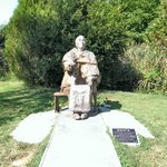 Baba Vanga statue