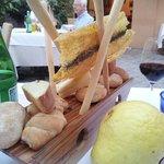 Brotauswahl (selbst hergestellt und gebacken)
