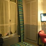 La camera! (la risoluzione è pessima...)