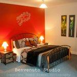 Self Contained studio bedroom