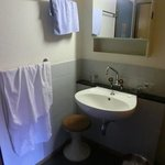 The washbasin in the room