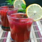Vodka Lemonade with Passion fruit !