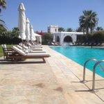 The pool, very quiet