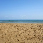 Plage sable naturel