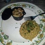 Polentina di saraceno e funghetti porcini